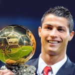 Soccer Star Cristiano Ronaldo Wins The 2013 Ballon d'Or Award