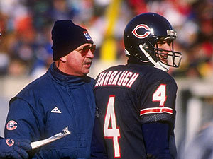 Harbaugh with Legendary Head Coach Mike Ditka