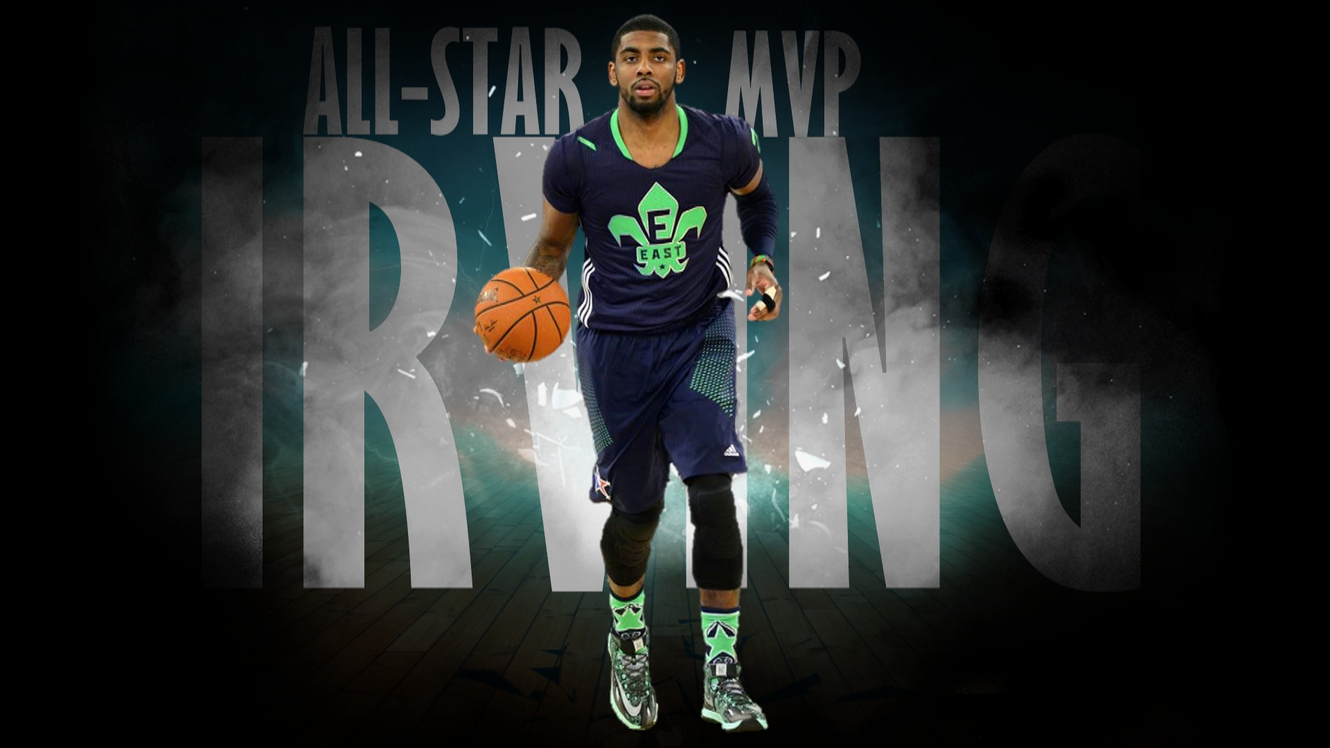 76f9642494a IRVING ALLSTAR COVERART. Kyrie Irving played magnificent in the East s  163-155 win over the West in the 2014 NBA All Star Game. Irving was named  MVP ...