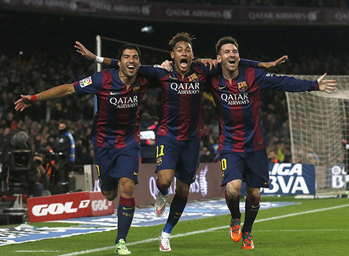 Neymar, Messi, and Suarez Cover